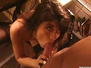 Blowjob, Classroom, Cumshot, Hardcore, Ivy Crystal, Kitchen, Private, Stockings, Vintage,