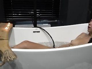 18, Amateur, Bathroom, Brunette, Fantasy, Long Hair, Masturbation, Polish, Shower, Softcore,