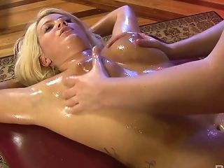 Anal Sex, Ass, Big Tits, Blonde, Dildo, Femdom, Massage, Masturbation, Oiled, Pornstar,