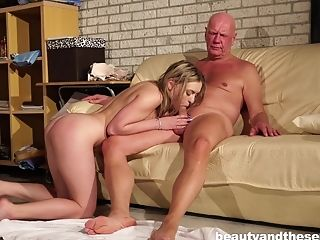 Ass, Babe, Ball Licking, Blonde, Couple, Cute, Doggystyle, Fetish, Foot Fetish, Hardcore,