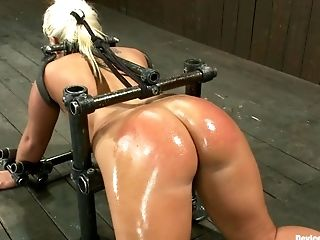 Ass, BDSM, Caning, Kait Snow, Rough,