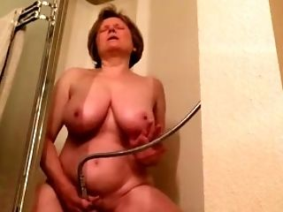 Bathroom, Big Tits, Jerking, Mature, Shower, Solo, Whore,