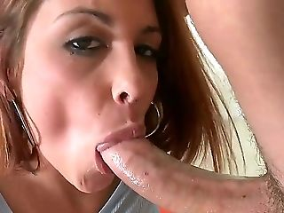 Ball Licking, Balls, Blowjob, Cute, Deepthroat, Drooling, HD, Licking, Pornstar, Teen,