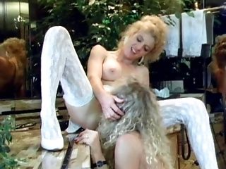 Blonde, Close Up, Erotic, Fingering, Insertion, Lesbian, Licking, Lingerie, Pussy, Pussy Eating,