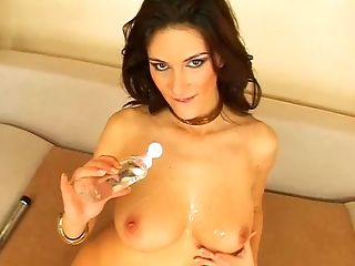 Anita Queen, Ass, Clamp, Cute, Fingering, Masturbation, Model, Natural Tits, Pussy, Sex Toys,