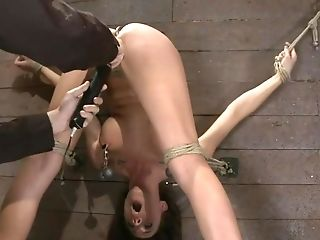 Abuse, Ass, BDSM, Caning, Chanel Preston, Cum, Helpless,