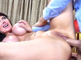 Anal Sex, Big Tits, Blowjob, Brunette, Eva Karera, Fake Tits, Hardcore, HD, MILF, Moaning,