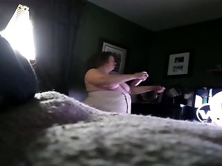 BBW, Cute, Dressed, Fat, Hidden Cam, Masturbation, Sexy,