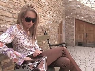 Blonde, Blowjob, European, Exotic, Jasmine Luna Gold, Lesbian, Luna Gold, Masturbation, Outdoor, Pornstar,