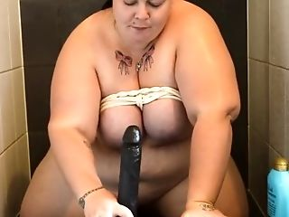 BBW, Blowjob, Shower,