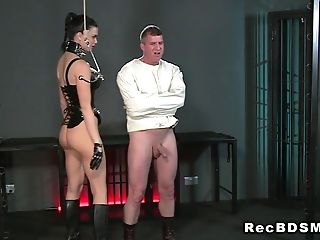BDSM, Big Tits, Cumshot, Dick, Dungeon, Femdom, Fetish, Handjob, HD, Jerking,