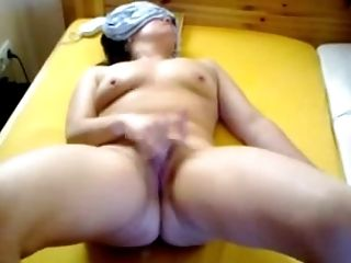 Fingering, Horny, Jerking, Mask, Masturbation, Pussy, Solo, Wife,
