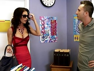 American, Beauty, Big Tits, Blowjob, Bold, Brunette, Classroom, College, Cougar, Desk,