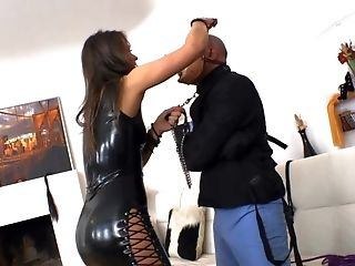 BDSM, Black, Blindfold, Blowjob, Bondage, Casting, Enema, Femdom, Fetish, HD,