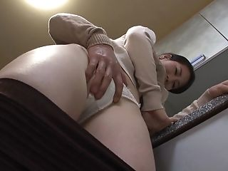 Big Natural Tits, Blowjob, Boobless, Couple, Cum, Cum On Tits, Cumshot, Hardcore, Japanese, Kitchen,
