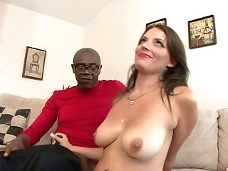 Ass, Big Black Cock, Big Cock, Big Natural Tits, Big Tits, Blowjob, Bold, Brunette, Close Up, Cowgirl,