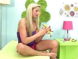 Avril Sun, Blonde, Boobless, Candy Love, Cute, Dildo, Exotic, Lollipop, Masturbation, Pornstar,