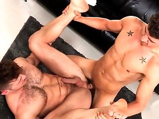 Anal Sex, Big Ass, Big Cock, Blowjob, Brunette, Caucasian, Couple, Cumshot, Ethnic, Hairy,