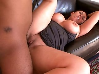 Ass, Babe, Big Black Cock, Big Cock, Blowjob, Brunette, Chubby, Clamp, Close Up, Clothed Sex,