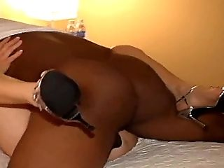 Big Black Cock, Big Cock, HD, High Heels, Homemade, Interracial, Slut, Whore,