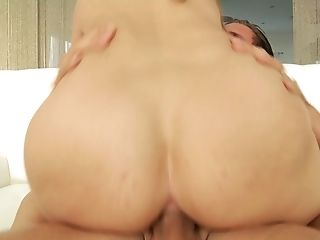 Anal Sex, Ass, Bareback, Big Ass, Big Natural Tits, Blonde, Bold, Clamp, Couple, Cum,