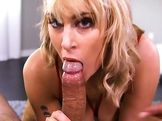 Ball Licking, Blonde, Blowjob, Cum In Mouth, Cumshot, Deepthroat, Dick, Extreme, Felching, HD,