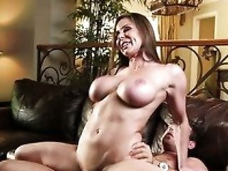 Beauty, Brunette, Cougar, Cowgirl, Cute, Food, Hardcore, Horny, Kendra Lust, Riding,