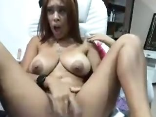 Big Tits, Horny, Latina, Masturbation, Nipples, Webcam,