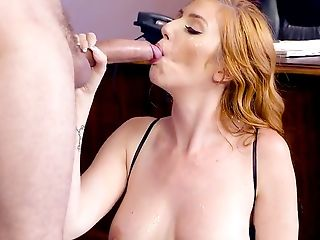 Big Tits, Blowjob, Business Woman, Cowgirl, Cumshot, Deepthroat, Desk, Facial, Fake Tits, Hardcore,