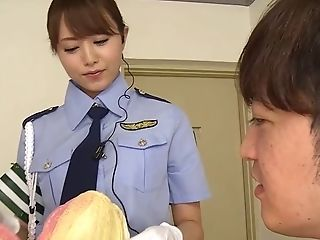 Akiho Yoshizawa, Blowjob, Close Up, Clothed Sex, Couple, Ethnic, Fishnet, Hardcore, Japanese, Legs,