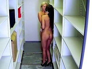 Cute, Fingering, Horny, Lesbian, Licking, Quickie, Slut, White, Young,