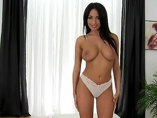 Anissa Kate, Babe, Beauty, Big Tits, Brunette, European, Foreplay, French, Natural Tits, Oral Sex,