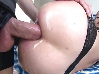 Anal Sex, Ass, Babe, Beauty, Blonde, Blowjob, Clamp, Cum In Mouth, Gloves, Hardcore,