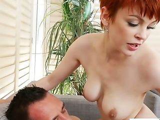 Beauty, Blowjob, Bree Daniels, Cowgirl, Cute, Freckled, Horny, MILF, Oral Sex, Redhead,
