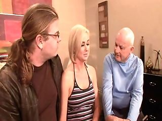 Blonde, Cuckold, Facial, Hardcore, Shaved Pussy, Wife,