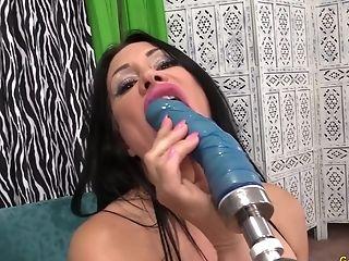 Big Tits, Fucking Machine, Mature, Sex Toys, Sheila Marie,
