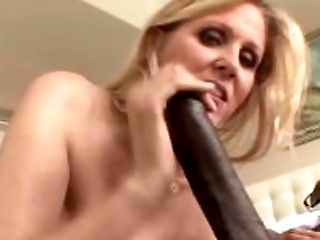 Big Black Cock, Blonde, Blowjob, Cougar, Cumshot, Dick, Facial, HD, Interracial, Julia Ann,